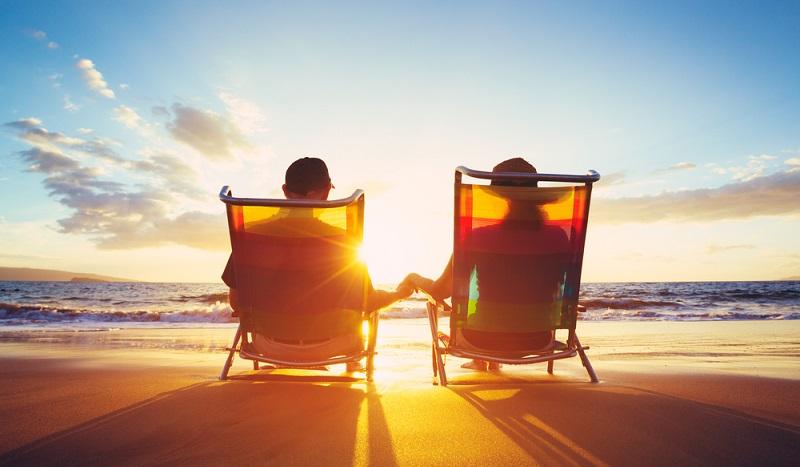 Der Eintritt ins Rentnerdasein ist sehr verlockend, wenn man viele Jahre lang gearbeitet hat. (#02)